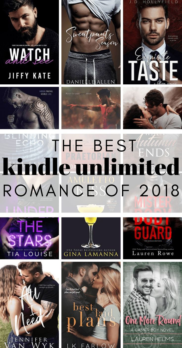 The Best Kindle Unlimited Romance Books of 2018   Bookish