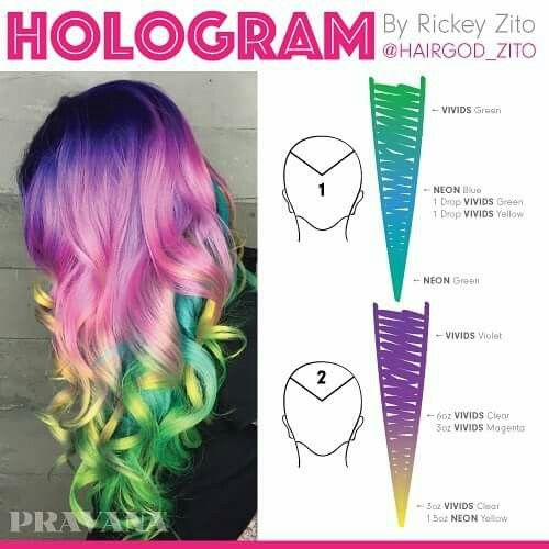 Pravana Hologram Formula! Gotta try this!