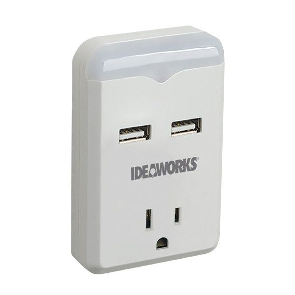 Space saving design simply plug into an ordinary wall outlet and simply plug into an ordinary wall outlet and charge two usb devices at the same time ingenious design comes with a built in o pinteres mozeypictures Image collections