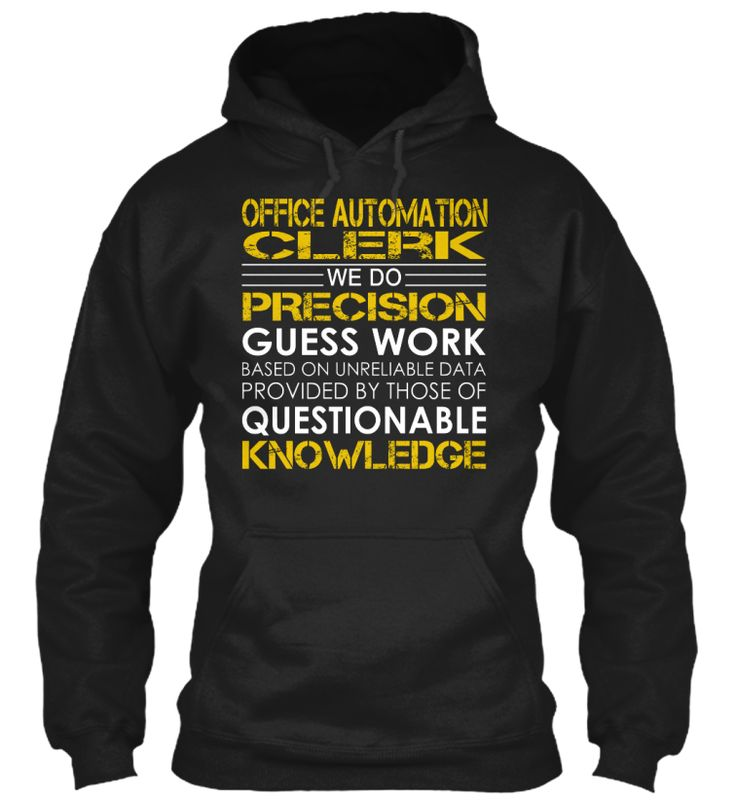 Office Automation Clerk - Precision #OfficeAutomationClerk