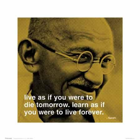 Gotta love Gandhi!