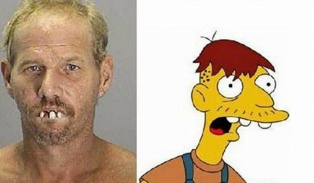 Los personajes de Los Simpson en la vida real | Zona Pop Peru