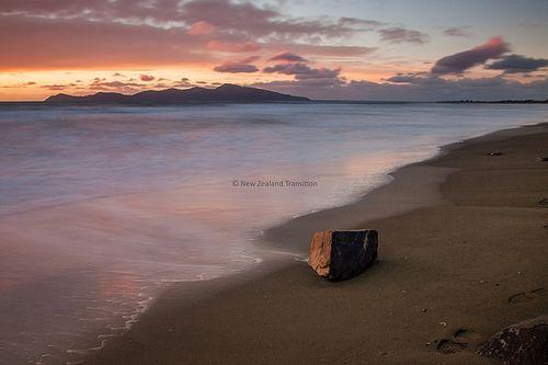 140602 Kapiti island sunset