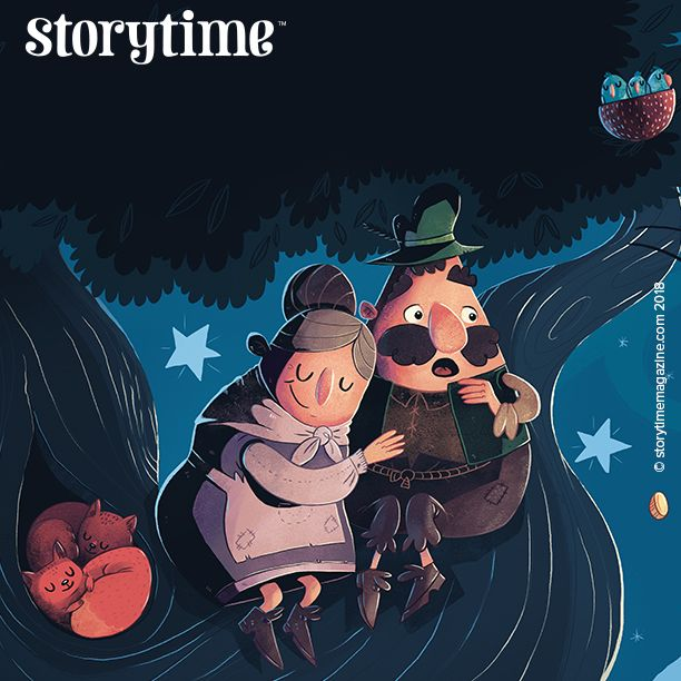 The wonderfully funny folk tale Mr and Mrs Vinegar, illustrated by Simone Kruger, is in Storytime magazine issue 44. Don't miss it! ~ STORYTIMEMAGAZINE.COM