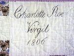 1806 Charlotte Roe, Virgil NY. NMAH Smithsonian