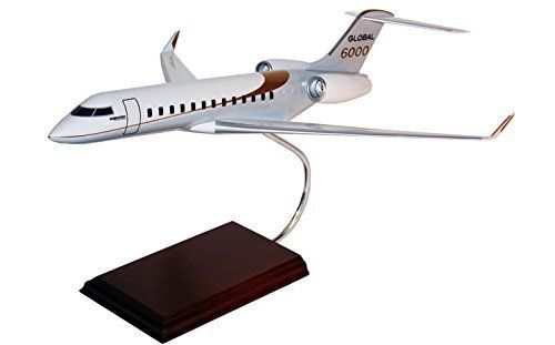 The global 6000 is a large cabin, ultra long-range business jet manufactured by bombardier aerospace. It is an improved version of the global express aircraft, offering higher cruise speed, increased range, improved cabin layout and lighting. This high quality replica is a 1/55 scale H11455 with... more details available at https://perfect-gifts.bestselleroutlets.com/gifts-for-teens/toys-games-gifts-for-teens/product-review-for-executive-series-models-global-6000-1-55-scale-h