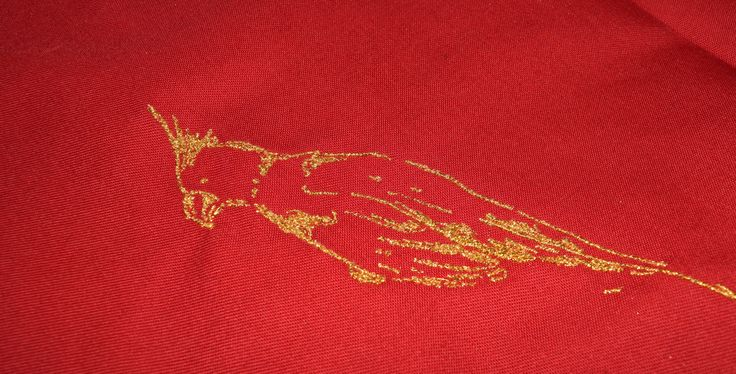 Carefully stitched #embroidery! #metallicthreads #goldthread @madeirausa Tajima Embroidery Machine - Tajima Group #digitizedembroidery #stitchart #customdecoration #embroideryservices #printlife http://bit.ly/19CjKmx