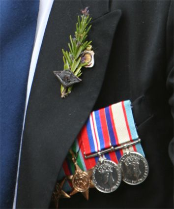 Sprigs of rosemary are traditionally worn on ANZAC Day. Rosemary can be found growing wild on the peninsula of Gallipoli, so it holds a special significance for Australians and New Zealanders alike. The aromatic herb is thought to improve memory and perhaps because of this, Rosemary has become an emblem of fidelity and remembrance.
