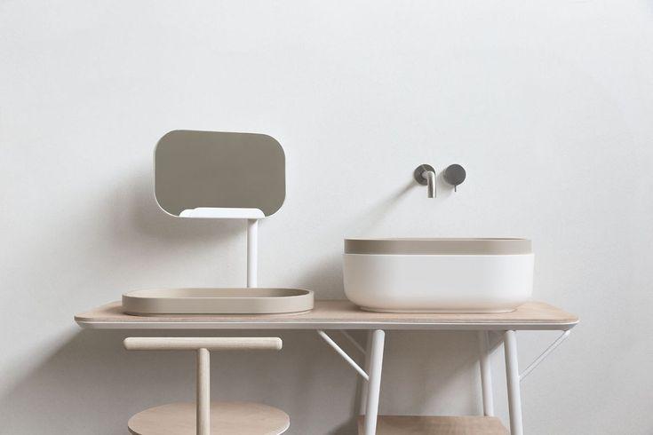 Oblon, collezione per l'arredo bagno by Novello