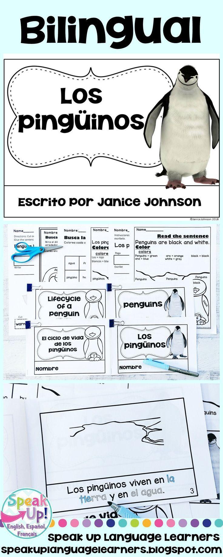 como se escribe pinguino en ingles