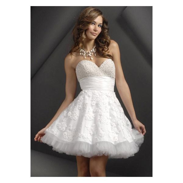 Vestidos de 15 años cortos Vestidos de 15 años 2012 found on Polyvore