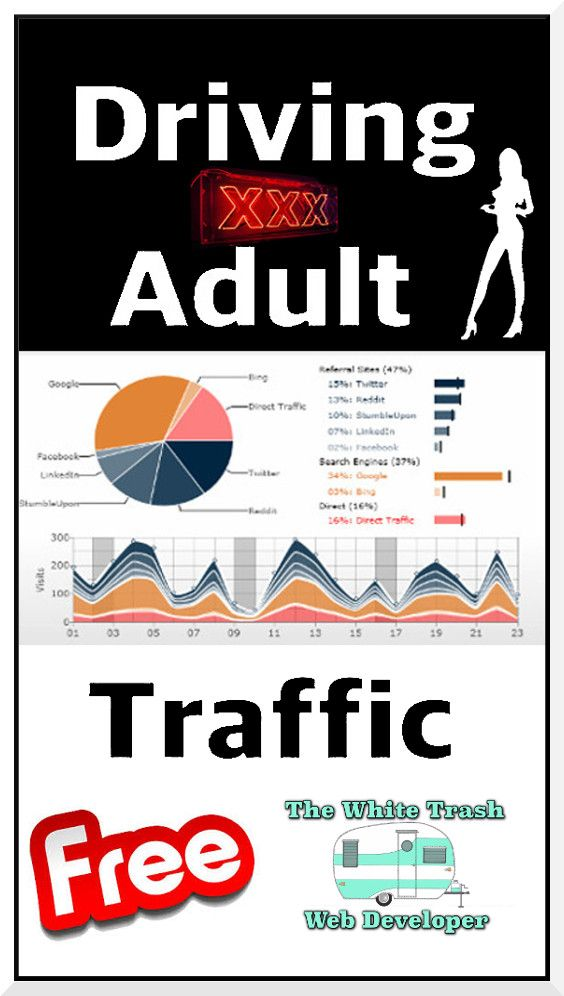 How to get adult traffic