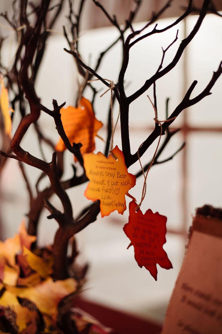 Party Idea: Adapt this Wishing Tree to a Thanksgiving Tree   Photography: AutumnAndMelinda.com