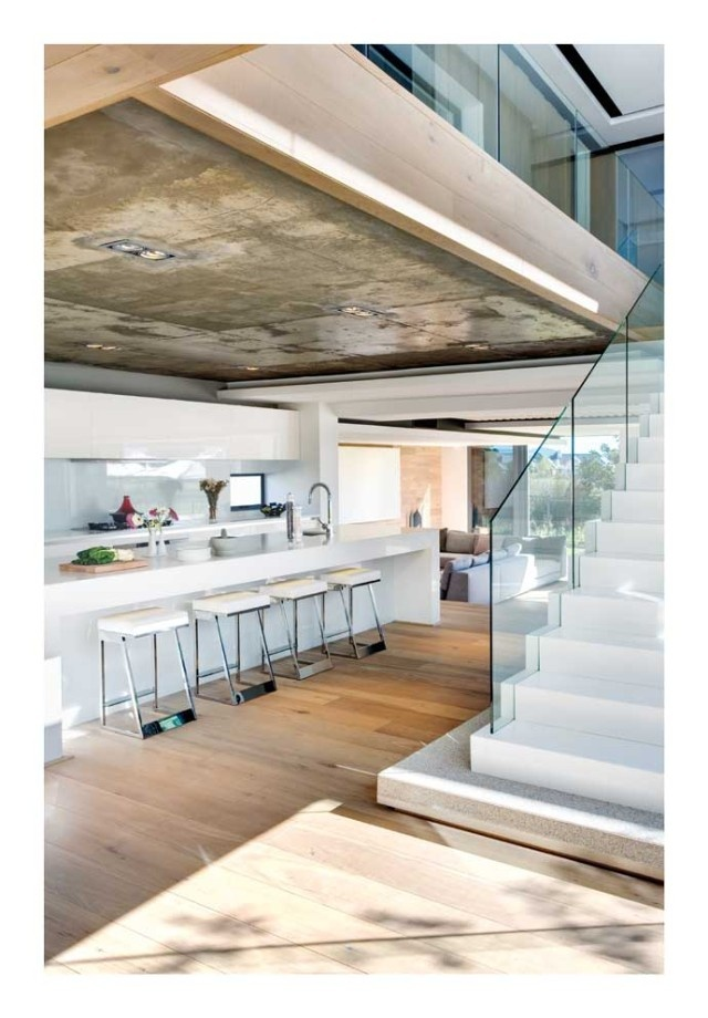 Kitchen And Staircase Design By Antoni Associates