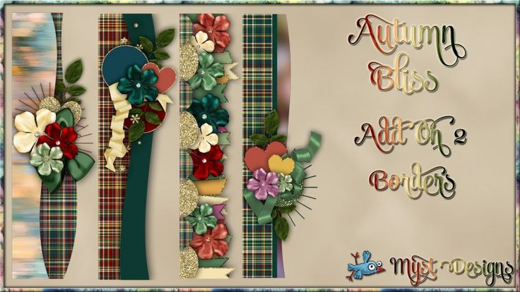 Autumn Bliss - AO2 - Borders