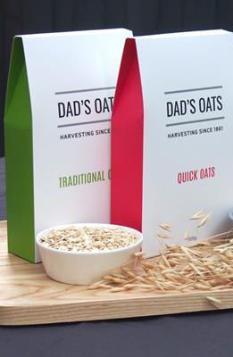 Dad's Oats - 3x Pack: Traditional Oats, Quick Oats and Groats. These are the simplest form of oat - just the raw oat from the paddock with his/her shell taken off and steamed to stabilise the inner oat goodness (and so he/she doesn't sprout!). #FarmhouseAU #DadsOats #oats #breakfast #foodie