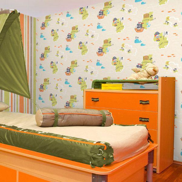 Mejores 12 im genes de papel pintado infantil carousel en - Infantil papel pintado imagenes ...
