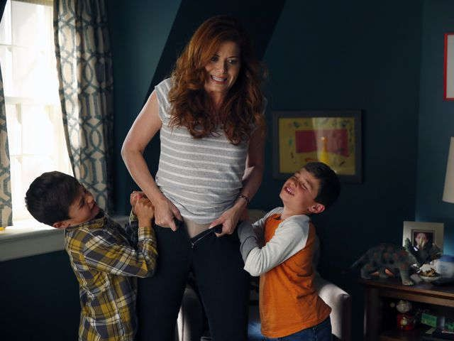 'The Mysteries of Laura,' starring, Debra Messing