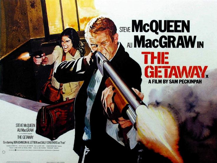 The Getaway (1972) by Sam Peckinpah.