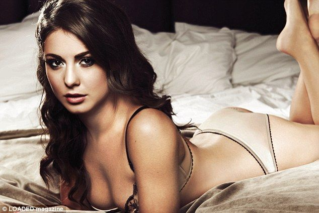 Made In Chelsea's Louise Thompson wow.