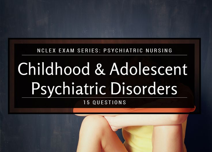 Knowledge of developmental theory is crucial to understanding infant, childhood, and adolescent disorders because deviation from developmental norms is an important warning sign of a problem. This 15-item quiz will test your knowledge about mental disorders in children and adolescents. How well can you handle these situations? Let's find out!