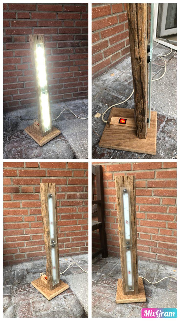 LED Lampe Eigenbau, Bau