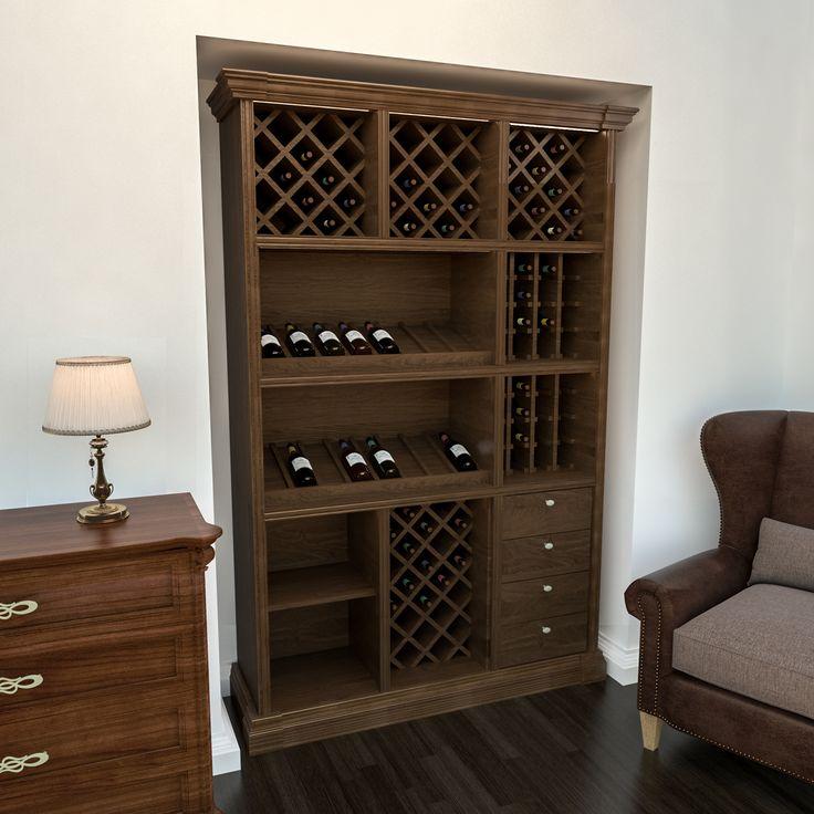 #Шкаф для #хранения #вина 94451 проект для #кабинета #производитель Деметра Вудмарк.