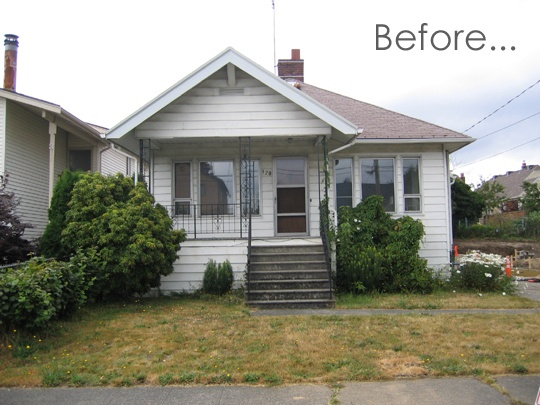 BeforeAfter An Exterior Renovation in SeattleHome Exterior