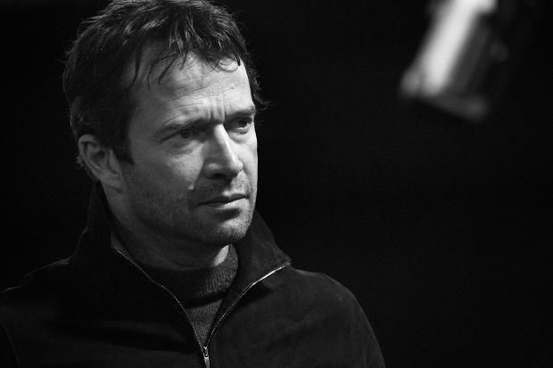 JAMES PUREFOY during 'Flare Path' Rehearsals