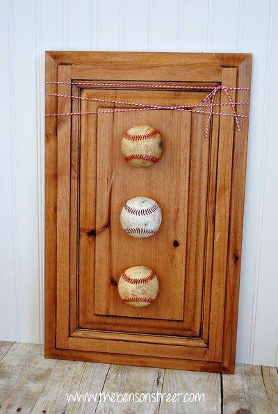 Die Besten 25 Baseball Wall Decor Ideen Auf Pinterest