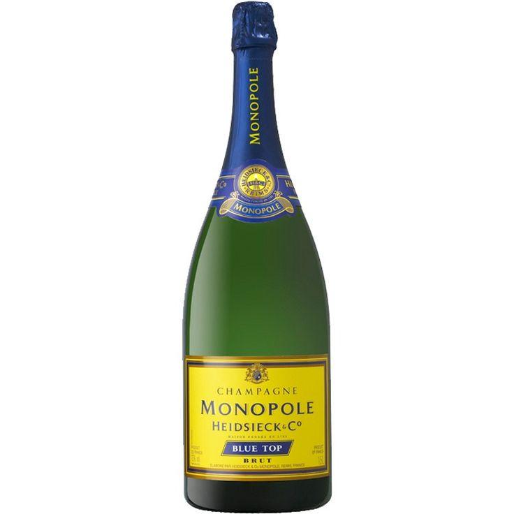 Heidsieck Monopole Blue Top Brut NV Magnum Champagne