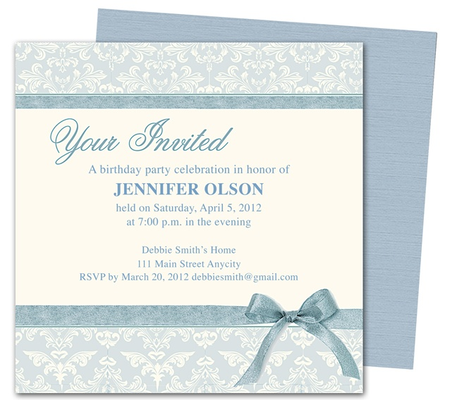 1000+ Images About Birthday Invitations On Pinterest