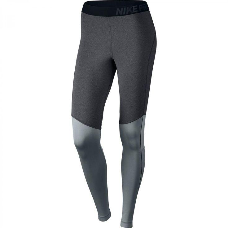 Nike Damen Tight Pro Hyperwarm Max 685971-021 XS Dark Grey/Htr/Cool Grey/Black | XS