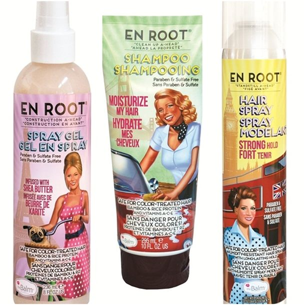 the Balm En Root Hair Care Collection We have this at Nova, and I love it!!!!!