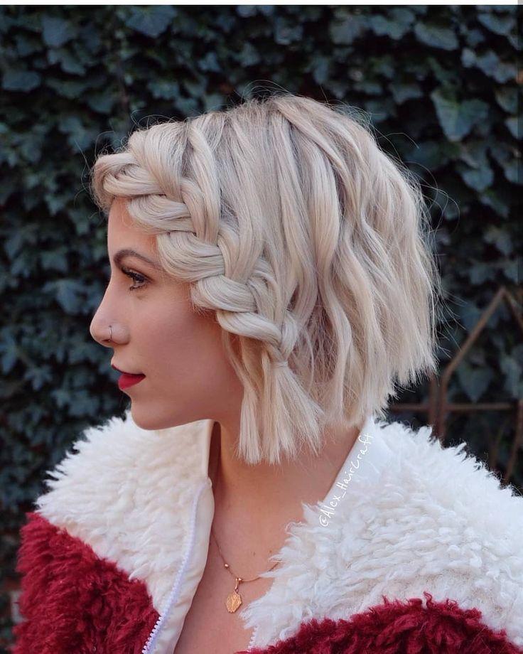 +15 Spezielle kurze und Farbe Frisuren, #beautifulhairstyles #cutehairstyles #Fr…