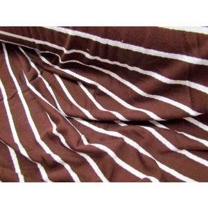 Coconut Stripe Jersey