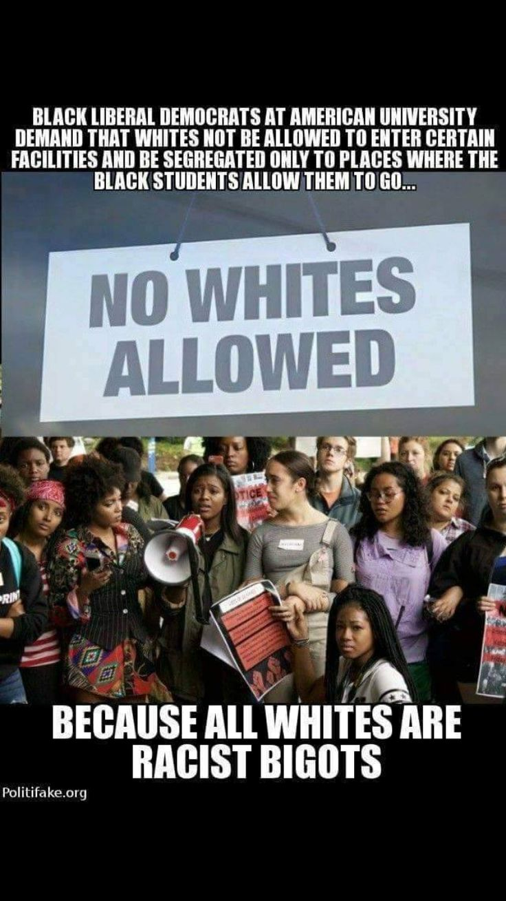 No Whites Allowed. Wake up  people, this is REALLY happening! Who are the rasist in this picture?!