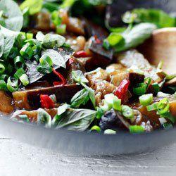 Stir-fry z bakłażanem | Kwestia Smaku