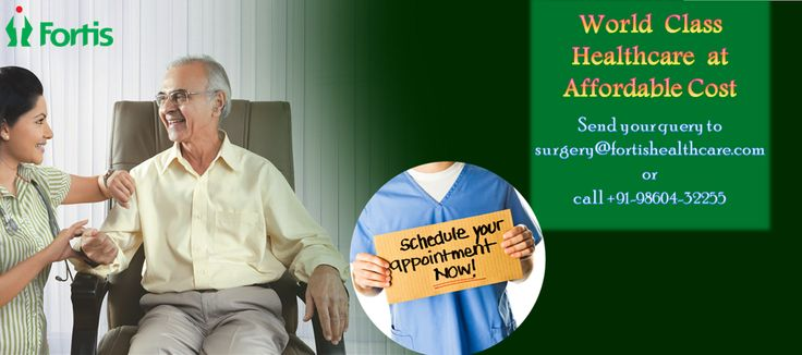 Cut-Price Joint replacement surgery at Fortis Hospital India