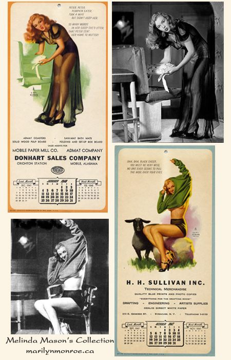Maid in Baltimore Earl Moran Marilyn Monroe - Bing images