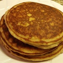 Almond Flour Pancakes: Pretty good! I used HC instead of water and added baking powder, vinegar and vanilla extract.