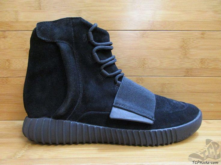 Men's Athletic Footwear : Adidas Yeezy 750 Boost Triple Black #tcpkickz #adidas #yeezyboost #yeezy750 #kanyewest