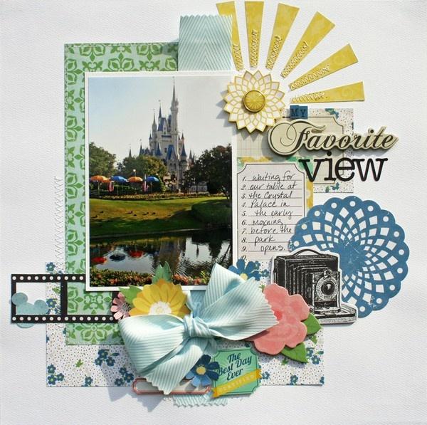 82 Best Echo Park Layouts Images On Pinterest Scrapbook Layouts