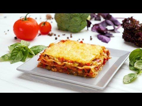 Овощная лазанья - Рецепты от Со Вкусом - YouTube