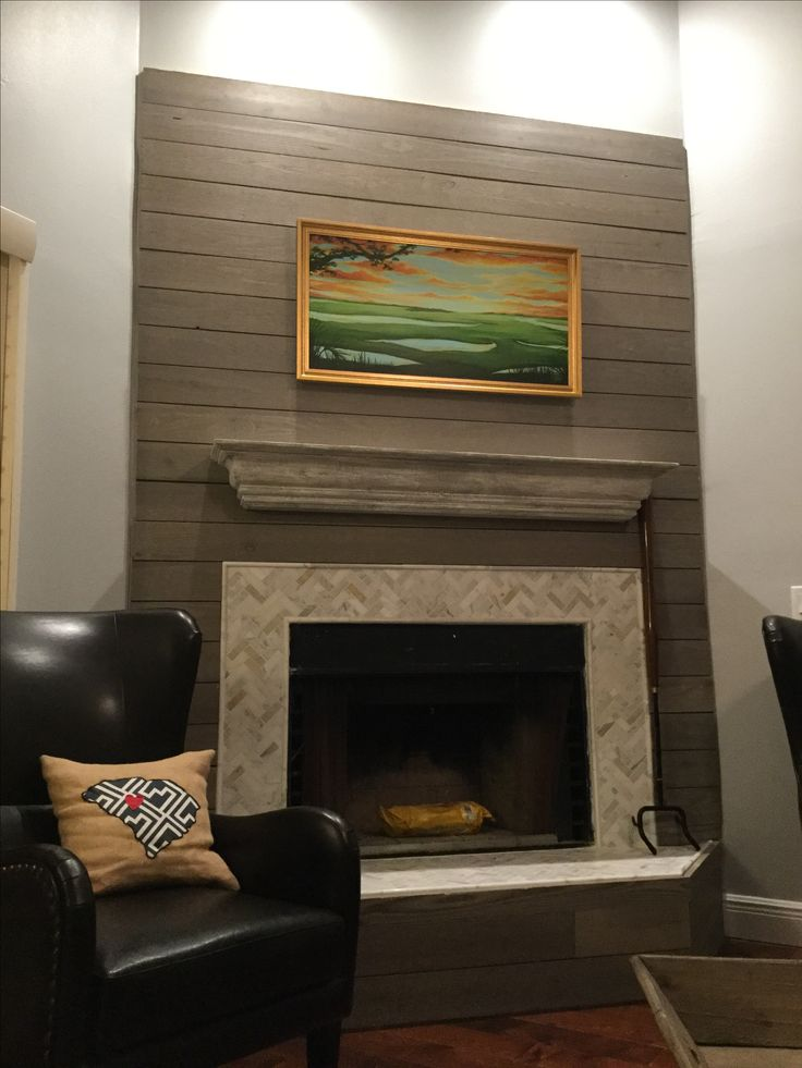 17 Best Ideas About Wood Mantle On Pinterest Rustic