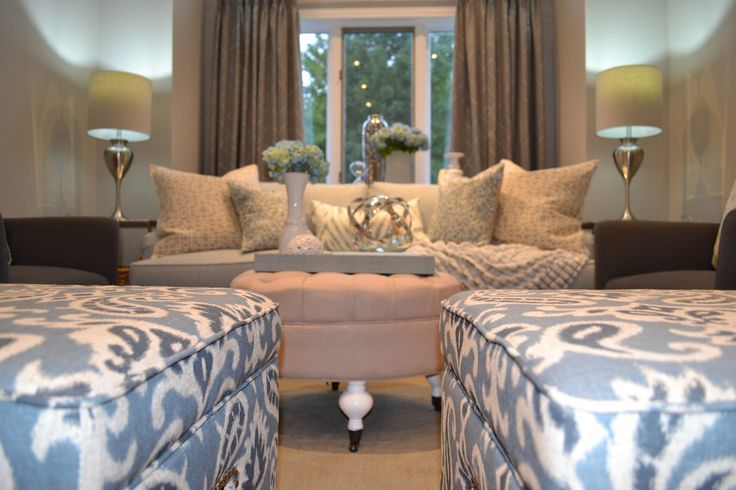 Formal living room in Windsor by our interior design firm