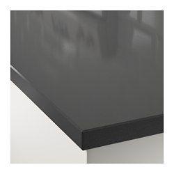 IKEA - OXSTEN, Maatwerkblad, 45.1-63.5x3.8 cm, , Gratis 25 jaar garantie. Raadpleeg onze folder voor de garantievoorwaarden.Het werkblad wordt op maat gemaakt voor je keuken. Kies een passende diepte (10-125 cm) en lengte (max. 3 m zonder naden).Het werkblad heeft een uit één geheel gegoten toplaag van steenmeel, voor een poriënvrij en vlak werkvlak dat makkelijk schoon te houden is.Alle kwartskleuren kunnen worden besteld met een rand van kwarts in dezelfde kleur of met een kantlijst van…