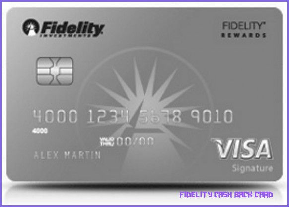 Learn All About Fidelity Cash Back Card From This Politician