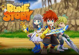 Neue Spiele Colopl Rune Story android kostenlos 2015
