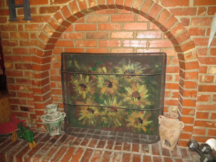 Best 25 fireplace cover ideas on pinterest faux mantle fake my fireplace cover solutioingenieria Image collections